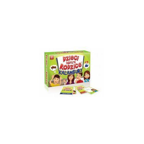 Gra rodzinna dzieci kontra rodzice: kalambury marki Kangur