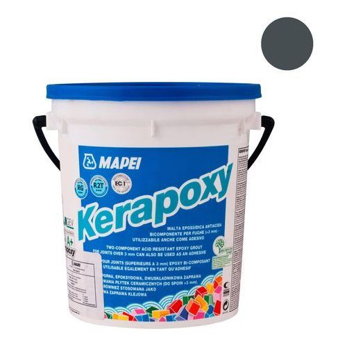 Mapei Fuga epoksydowa kerapoxy antracyt 2 kg (8022452010750)