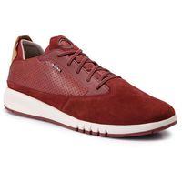 Sneakersy - u aerantis a u927fa 02243 c7004 dk red, Geox, 40-46