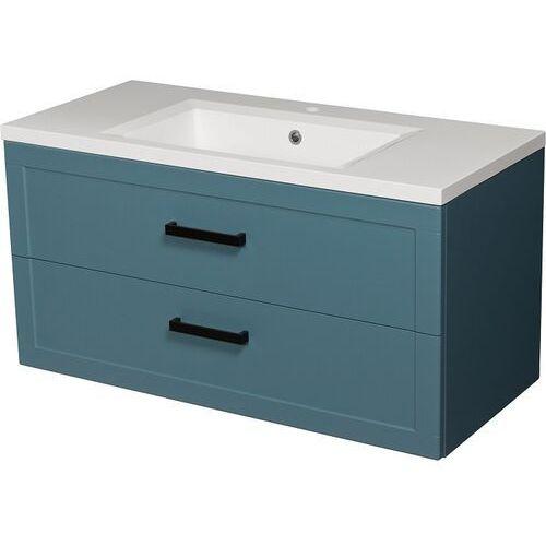 Gante Niebieska szafka z umywalką 100/46 seria meiva n ✖️autoryzowany dystrybutor✖️