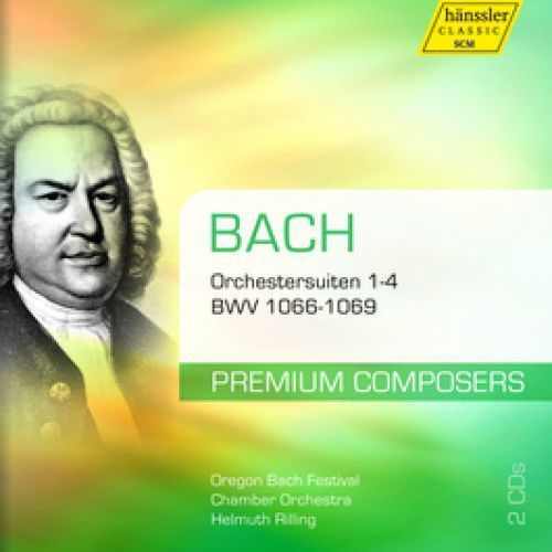 4 orchestral suites bwv10 marki Haenssler