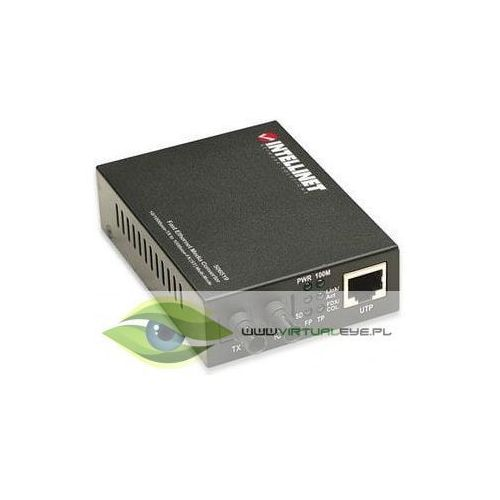 konwerter 10/100base-tx rj45/1000base-fx (mm st) 2km 1310nm marki Intellinet