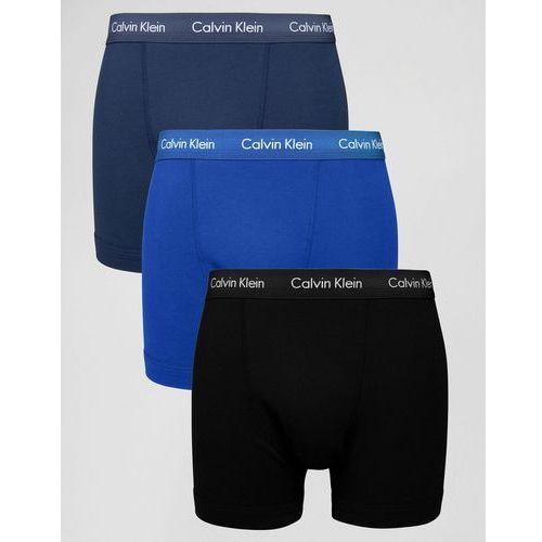 trunks 3 pack cotton stretch - multi marki Calvin klein