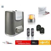 Zestaw elixo 500 3s rts 24v comfort pack (2 piloty 4-kanałowe keygo, lampa, fotokomórki, akumulator) marki Somfy