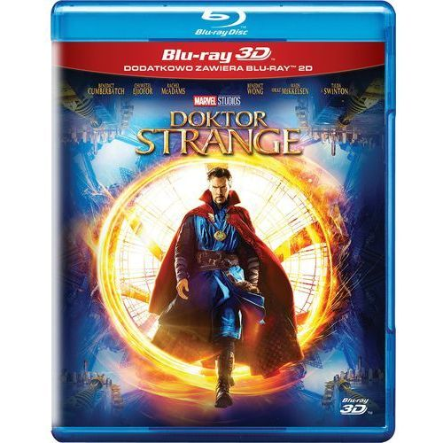 OKAZJA - Marvel Doktor strange 3d (blu-ray) - scott derrickson darmowa dostawa kiosk ruchu