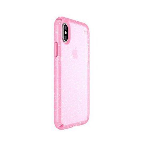 Etui SPECK Presidio Clear with Glitter Apple iPhone XR Różowy, kolor różowy