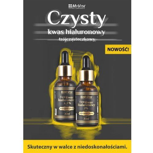Kwas hialuronowy 1,5% 30ml Myvita