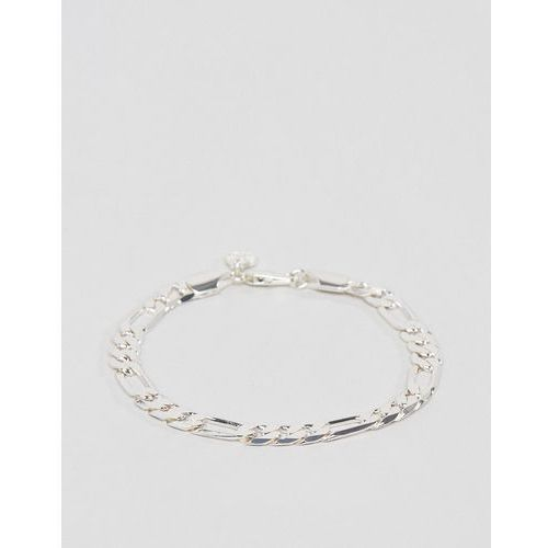 royal figaro chain bracelet in silver - silver marki Chained & able
