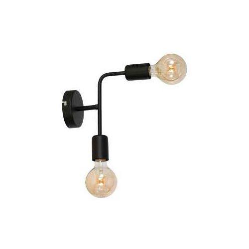 Kinkiet lampa ścienna Luminex Candela 2x60W E27 czarny 8924