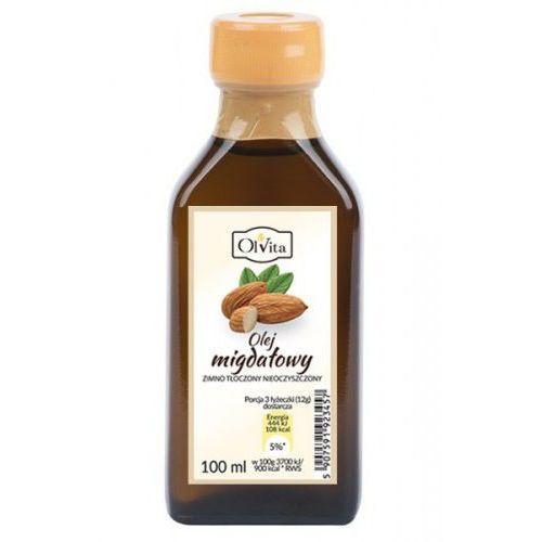 Ol'vita Olej migdałowy 100ml tłoczony na zimno - (5907591923457)