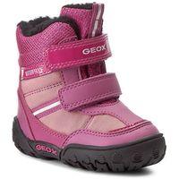 Śniegowce GEOX - B Gulp G B.Wpf A B640TA 054FU C8306 Dk Fuchsia/Pink
