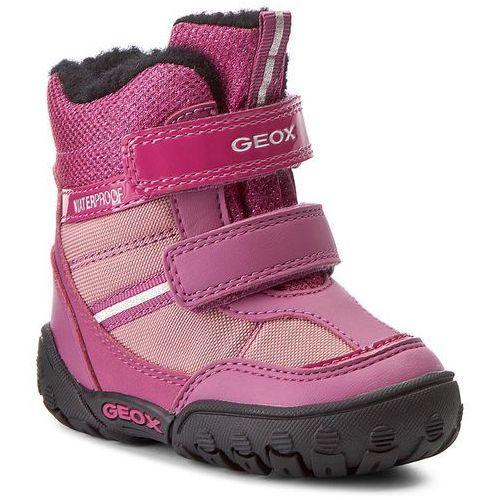 Śniegowce GEOX - B Gulp G B.Wpf A B640TA 054FU C8306 Dk Fuchsia/Pink, kolor różowy