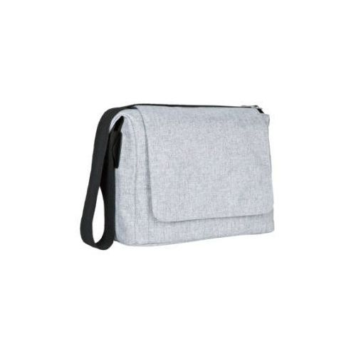 LÄssig torba na akcesoria do przewijania green label small messenger bag black melange marki Lässig