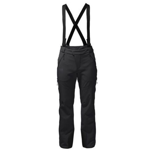 Spodnie NUCLEON PANTS MEN - black, kolor czarny