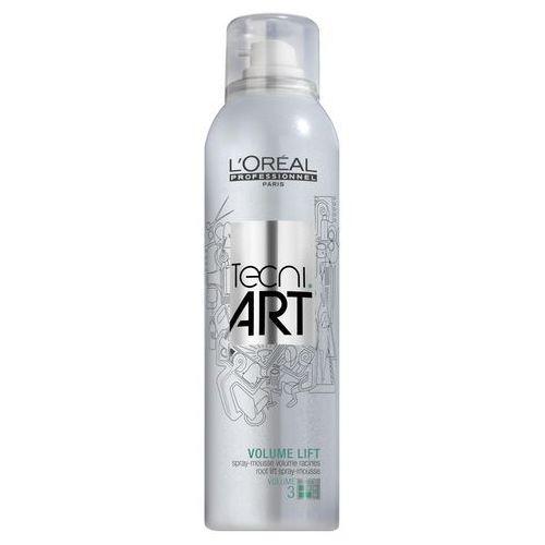 tecni art volume lift pianka do włosów w sprayu nadająca objętość u nasady 250 ml marki Loreal