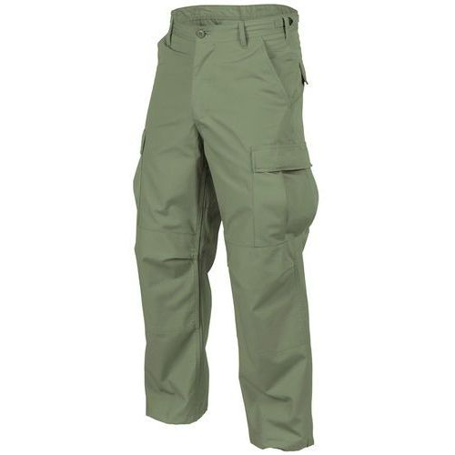 spodnie Helikon BDU PolyCotton Ripstop olive green (SP-BDU-PR-02)