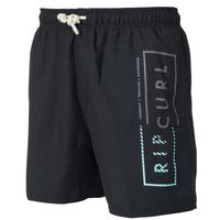 RIP CURL - Volley Core 16 Boardshort Black (90), kolor czarny