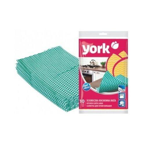 Ściereczka 100115 (10 sztuk) zielony marki York
