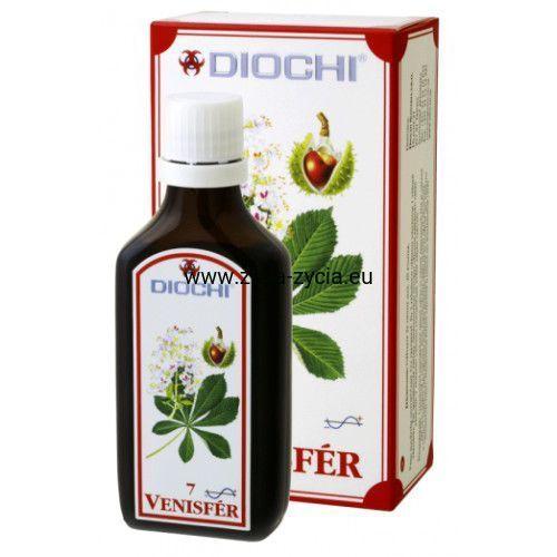 Krople Diochi Venisfer 50ml - Wzmacniający i detoksykujący produkt roślinny