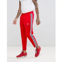 Nike Joggers With Taped Side Stripe In Red AJ2297-657 - Red, kolor czerwony