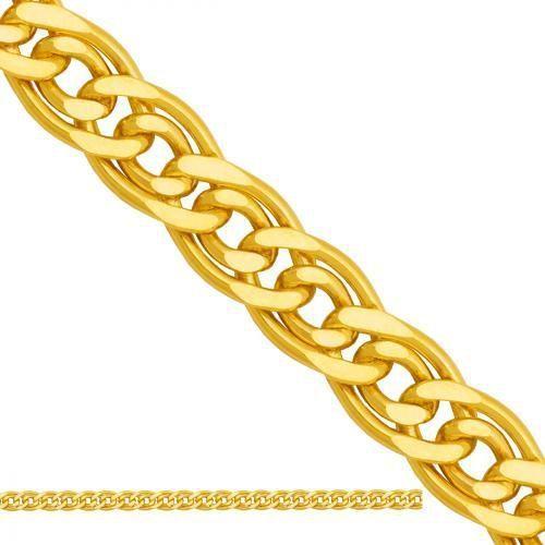 Nie Złoty łańcuszek dmuchany mona lisa ld201, kategoria: łańcuszki