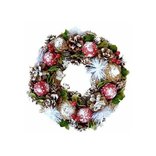Wianek świąteczny 30 cm dekorowany marki Tajemniczy ogród