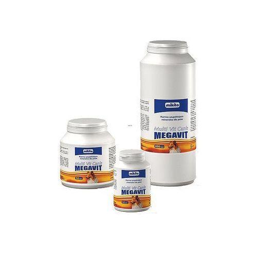 Mikita multi vit canis megavit - mieszanka witaminowo - mineralno - aminokwasowa dla psów 400tab. (5907615400810)