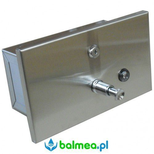 Dozownik mydła w płynie poziomy do zaudowy FANECO 1,2l wnękowy, N03202.S
