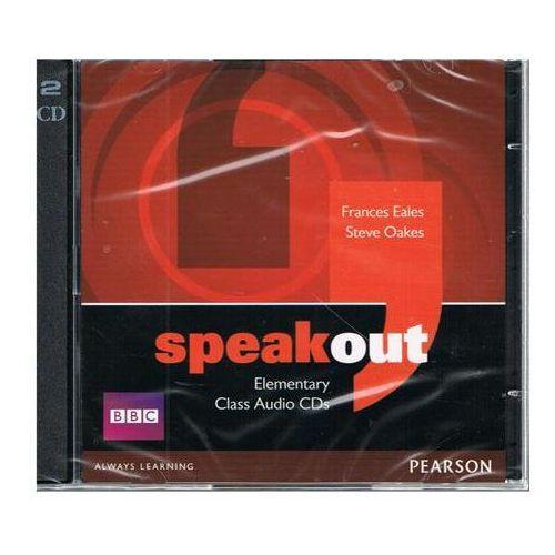 Speakout Elementary Zestaw 3 Płyt Audio CD do Podręcznika, Pearson