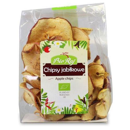Bio raj (konfekcjonowane) Chipsy jabłkowe bio 50 g bio raj (5907738151866)