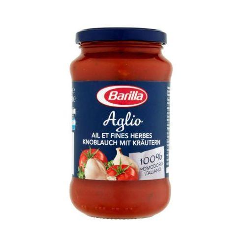400g aglio sos pomidorowy z czosnkiem, czerwonym winem i ziołami do makaronu marki Barilla