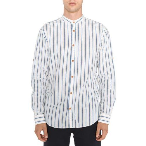 springfield koszula niebieski biały l marki Jack & jones