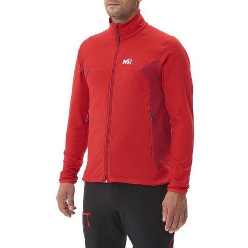 Millet tech stretch light kurtka mężczyźni czerwony 2xl 2017 kurtki wspinaczkowe