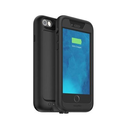 Wodoszczelne etui MOPHIE Juice Pack H2PRO z baterią 2750mAh do iPhone 6/6s Czarny, kolor czarny