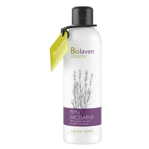 Biolaven płyn micelarny olejek lawendowy oczyszcza i łagodzi