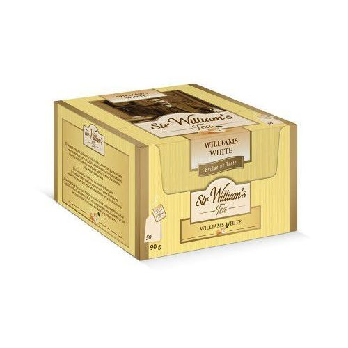 Sir william's Sir williams tea williams white herbata 50 saszetek (5902020014249)