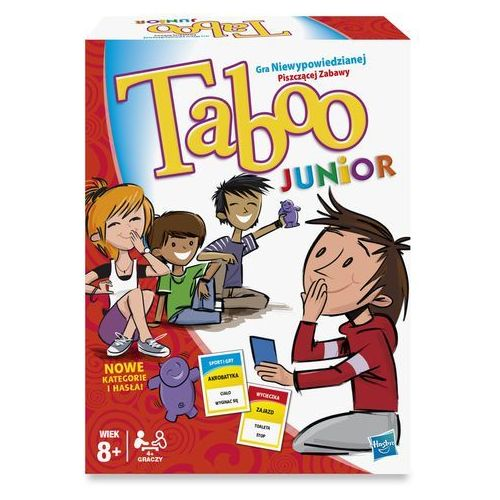 Hasbro Gra taboo junior -