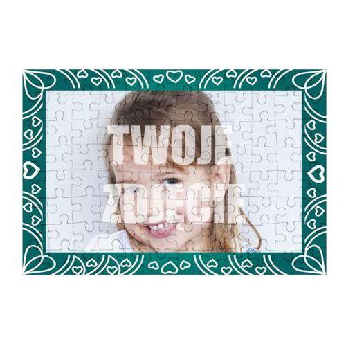Puzzle Serduszka + Twoje zdjęcie