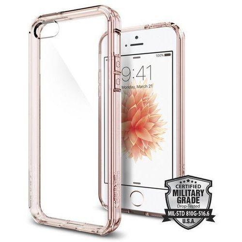 Obudowa spigen sgp ultra hybrid rose crystal dla apple iphone 5 / 5s / se - rose crystal marki Sgp - spigen
