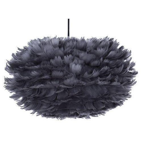 Lampa wisząca szara czarny kabel fog s marki Beliani