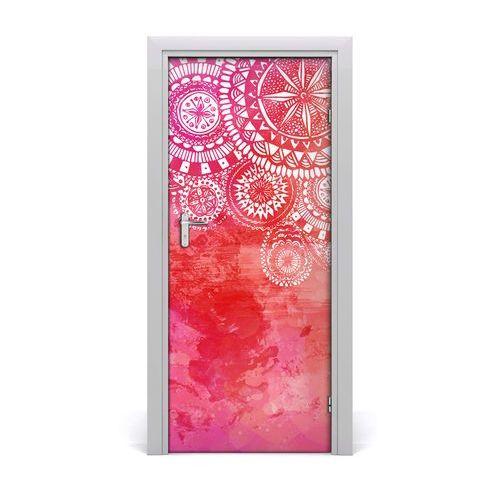 Naklejka samoprzylepna na drzwi ścianę Ornamenty