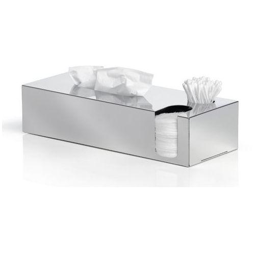 Blomus - Multi pojemnik na chusteczki, płatki, patyczki - Nexio polerowany - srebrny (4008832686900)