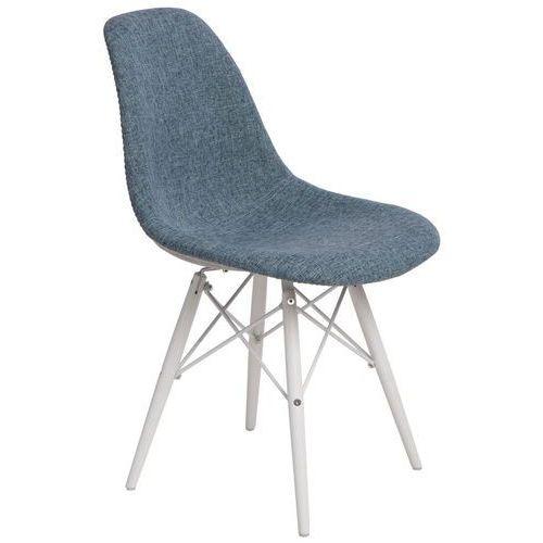 Krzesło P016W Duo nieb. szare/white, D2-4983