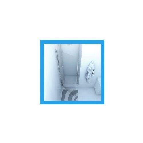 DUSO Drzwi prysznicowe 1 skrzydłowe 90x195, szkło transparentne DS202T * WYSYŁKA GRATIS