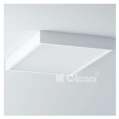 Plafon LAMPA sufitowa BELONA 1303E1E3+kolor Cleoni natynkowa OPRAWA prostokątna, kolor Biały
