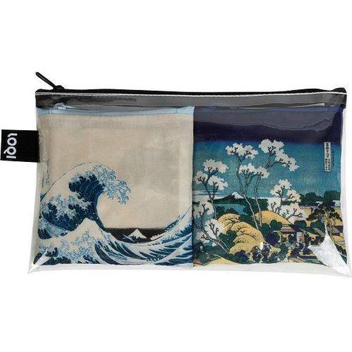 Loqi Torba art lover 2 szt. hokusai wave & fuji (4260317660427)