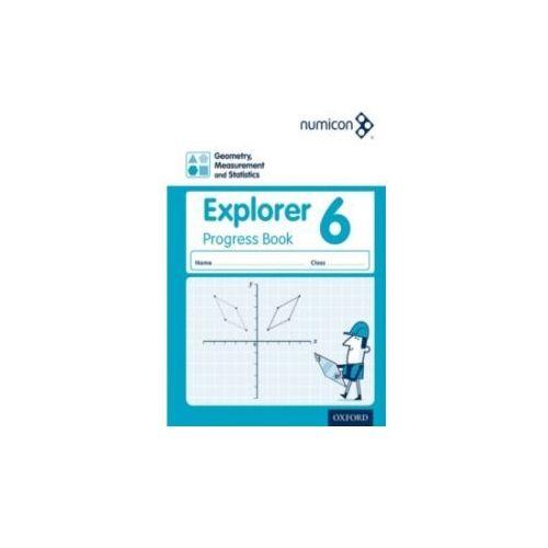 Numicon: Geometry, Measurement and Statistics 6 Explorer Progress Book (Pack of 30) (9780198305019)