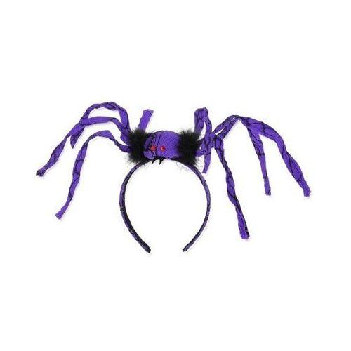 Opaska z pająkiem fioletowym - 1 szt. marki Go