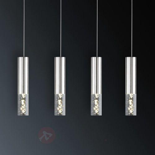 Czteropunktowa lampa wahadłowa LED Bubble