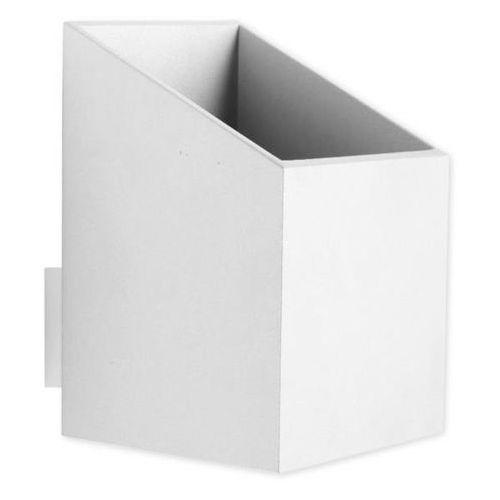 Kinkiet Rubik krótki biały - Biały